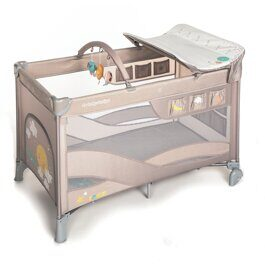 Кровать-манеж Baby Design Dream New beige