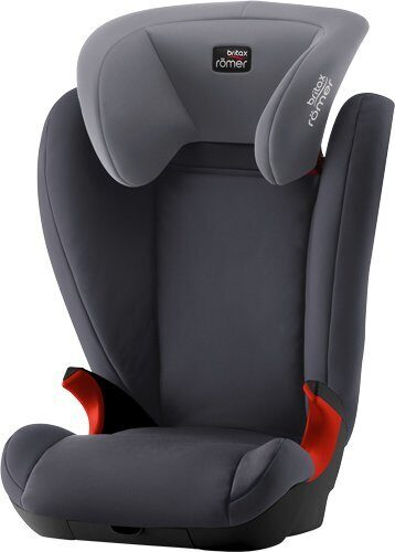 Автокресло Britax Roemer Kid II Black Series Гр. 2/3 (15-36 кг) Storm Grey