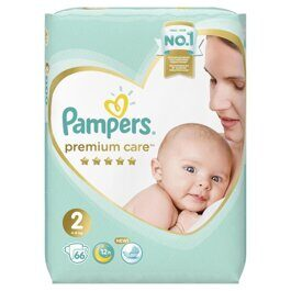 Подгузники Pampers Premium Care Mini 2 (4-8 кг) 66 шт