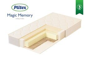 Матрац Plitex «Magic Memory» 119х60х12 см.