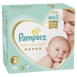 Подгузники Pampers Premium Care 4-8 кг 102 шт.
