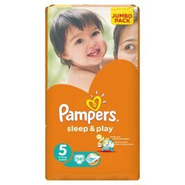 Подгузники Pampers Sleep&Play Макси 11-18 кг  58 шт