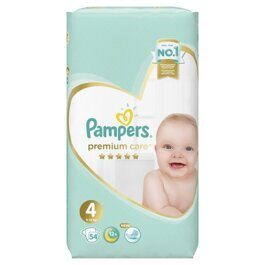 Подгузники Pampers Premium Care 9-14 кг. 54 шт.