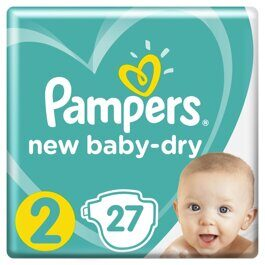 Подгузники Pampers Active Baby-Dry Мини 4-8 кг 27 шт.