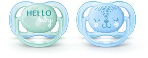 Пустышка Philips Avent Ultra Air Design 0-6 мес. 2 шт