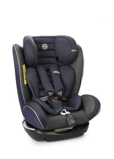 Автокресло Happy Baby Spector Navy Blue (0-36 кг), гр. 0+/1/2/3