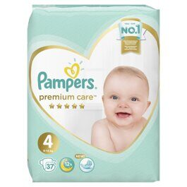 Подгузники Pampers Premium Care Maxi 4  (9-14 кг) 37 шт
