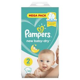Подгузники Pampers New Baby-Dry 4-8 кг. 144 шт