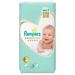 Подгузники Pampers Premium Care Midi 3 (6-10 кг) 52 шт