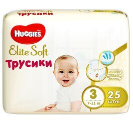 Трусики Huggies Elite Soft 6-11 кг 25 шт.