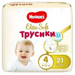 Трусики Huggies Elite Soft 9-14 кг 21 шт