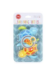 Игрушка для ванной Swimming Turtles Happy Baby (blue&yellow)