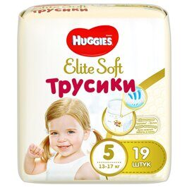 Трусики Huggies Elite Soft 12-17 кг 19 шт.
