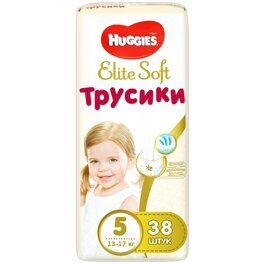 Трусики Huggies  Elite Soft  12-17 кг 38 шт.