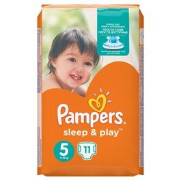Подгузники Pampers Sleep&Play 5 (11-18 кг) 11 шт.