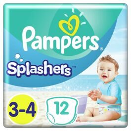 Трусики Pampers «Splashers» для плавания  (6-11 кг) 12 шт