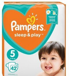 Подгузники Pampers Sleep&Play 11-16 кг 42 шт.